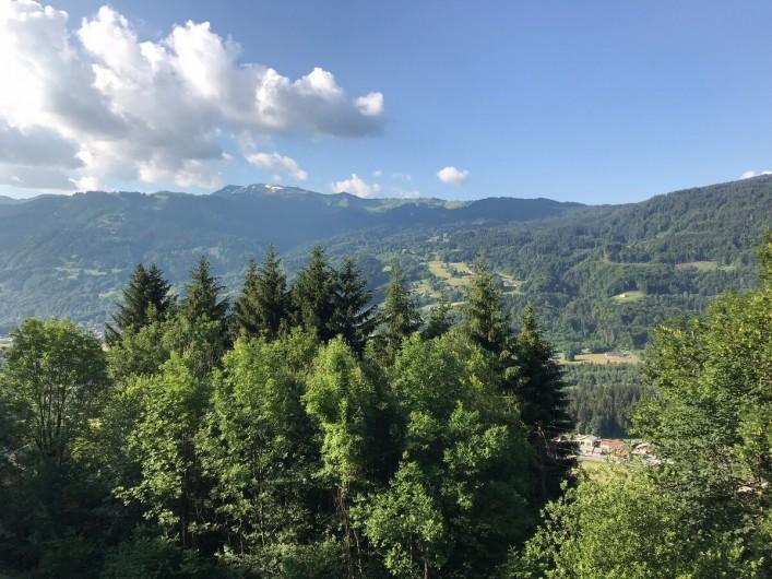 Location de vacances - Chalet à Verchaix - South facing view in summer