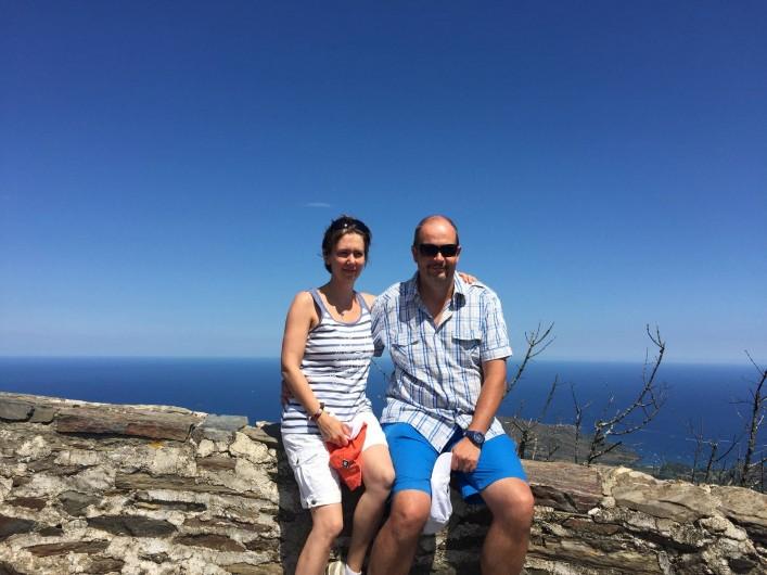 Location de vacances - Villa à Saint-Cyprien - Mon épouse et moi-même