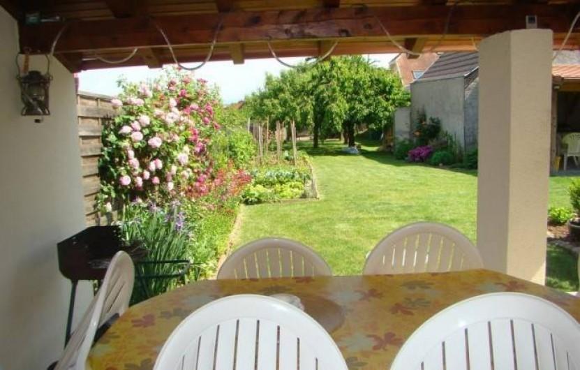 Location de vacances - Gîte à Kintzheim - Terrasse