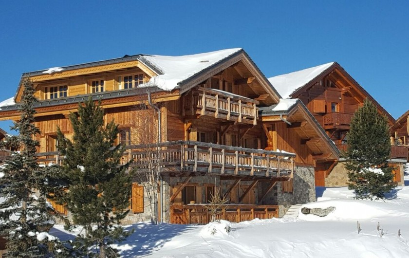 Location de vacances - Chalet à L'Alpe d'Huez - Hiver côté Sud