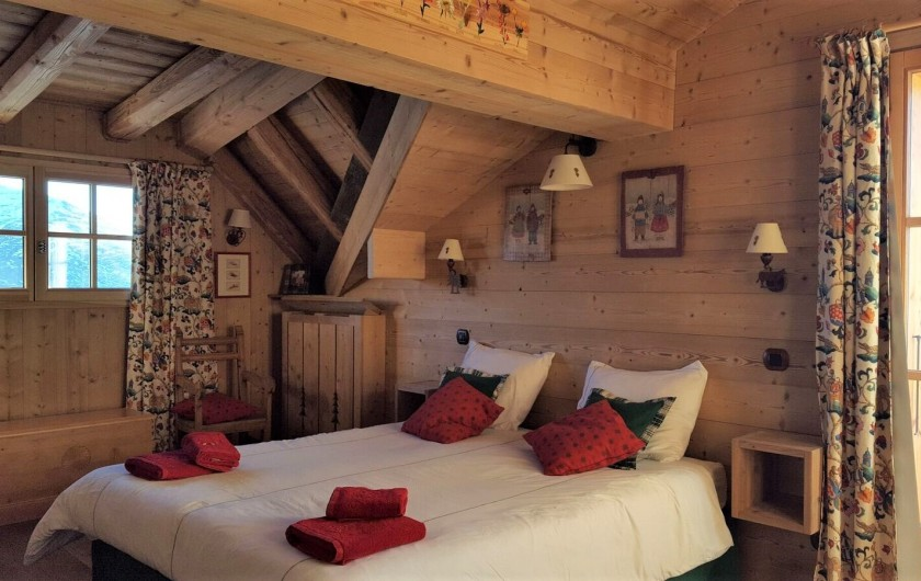 Location de vacances - Chalet à L'Alpe d'Huez - Chambre parentale
