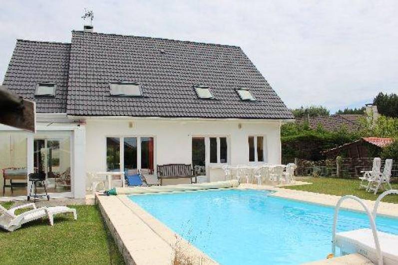 Grande maison avec piscine priv e et jardin 500 m de la for Camping avec piscine nord pas de calais