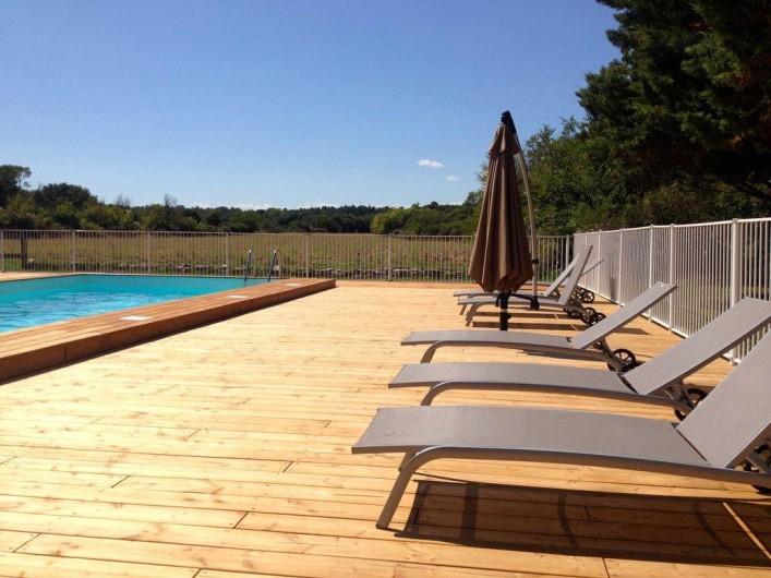 Location de vacances - Gîte à Sainte-Anastasie - Piscine