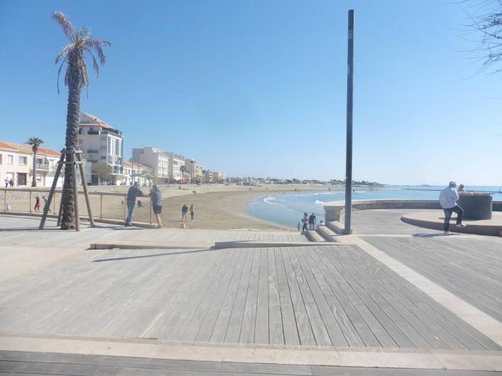 Location de vacances - Appartement à Le Grau d'Agde - plage