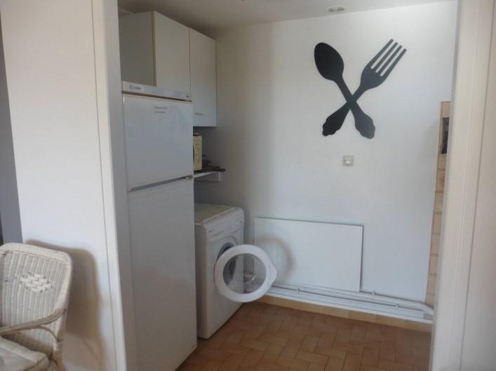 Location de vacances - Appartement à Le Grau d'Agde - cuisine