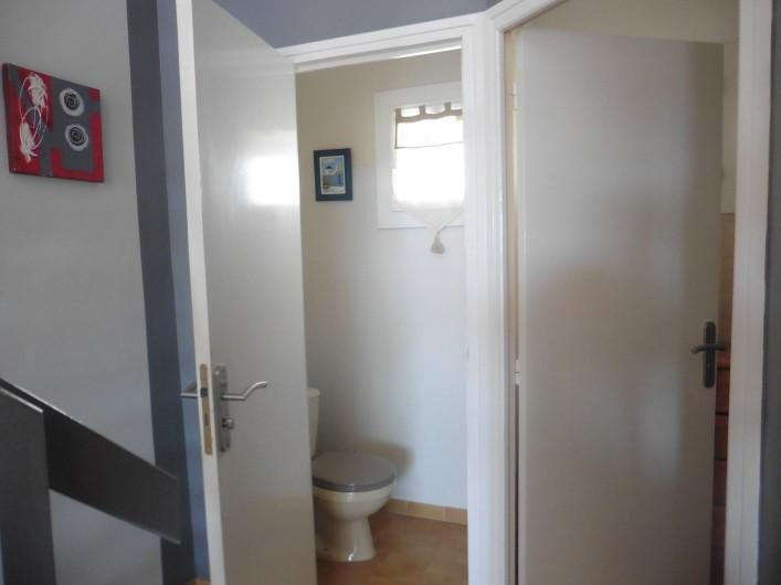 Location de vacances - Appartement à Le Grau d'Agde - wc indépendant