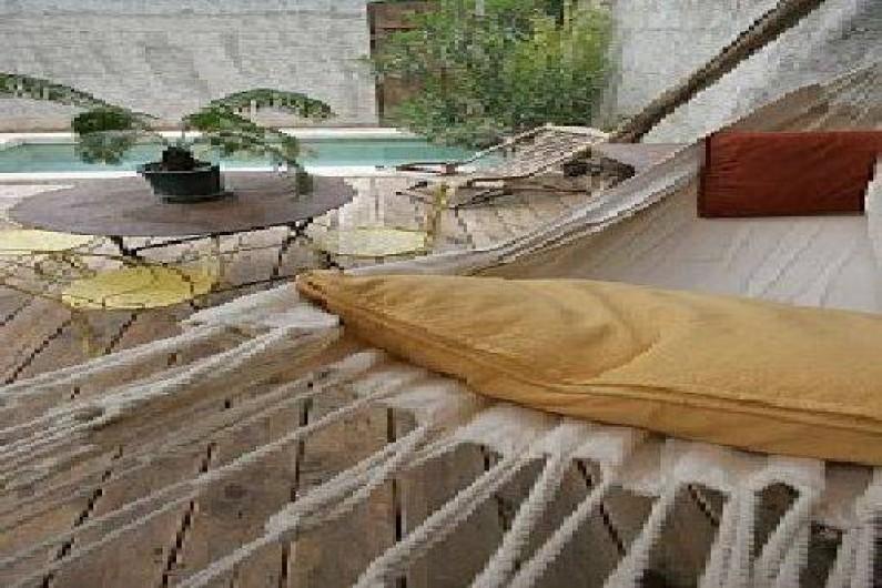 Location de vacances - Gîte à Noves - hamac