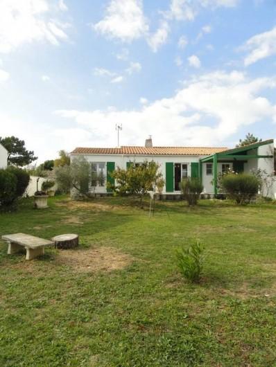 Location de vacances - Villa à Sainte-Marie-de-Ré - jardin