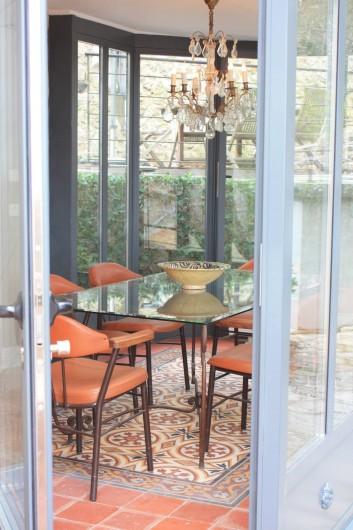 Location de vacances - Appartement à Sète - salle à manger