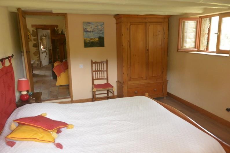 Location de vacances - Mas à Mourèze - Chambre 1