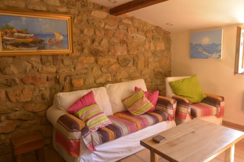 Location de vacances - Mas à Mourèze - Studio - Télévision