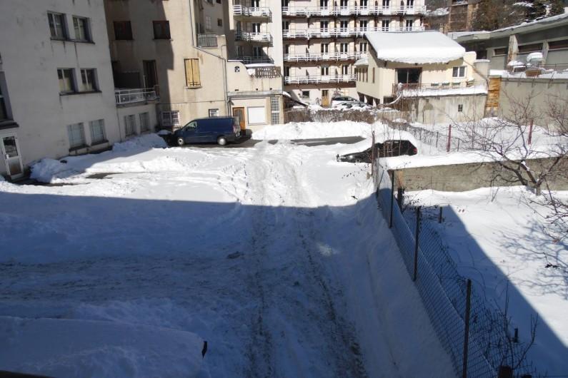 Location de vacances - Appartement à Briançon - Parking sécurisé