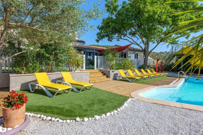 Location de vacances - Villa à Conilhac-Corbières - vue cuisine