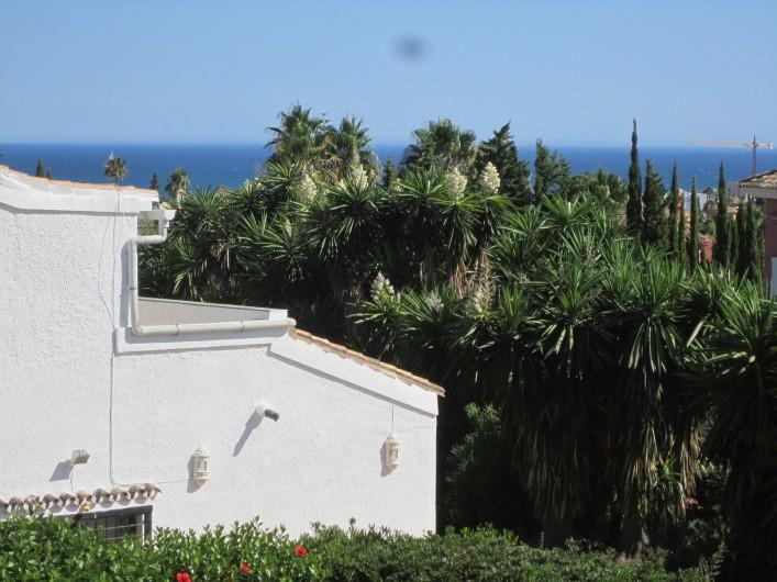 Location de vacances - Villa à Estepona - LA MER VUE DE LA CHAMBRE