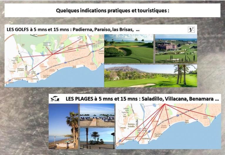 Location de vacances - Villa à Estepona - TOURISME GOLFS ET PLAGES