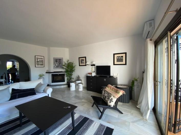 Location de vacances - Villa à Estepona - SALON WIFI ET TV INTERNATIONLE