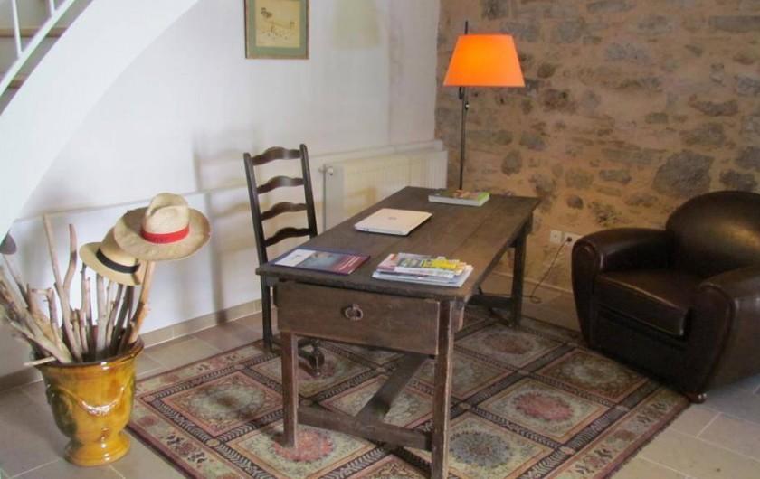 Location de vacances - Gîte à La Rouquette - Le bureau