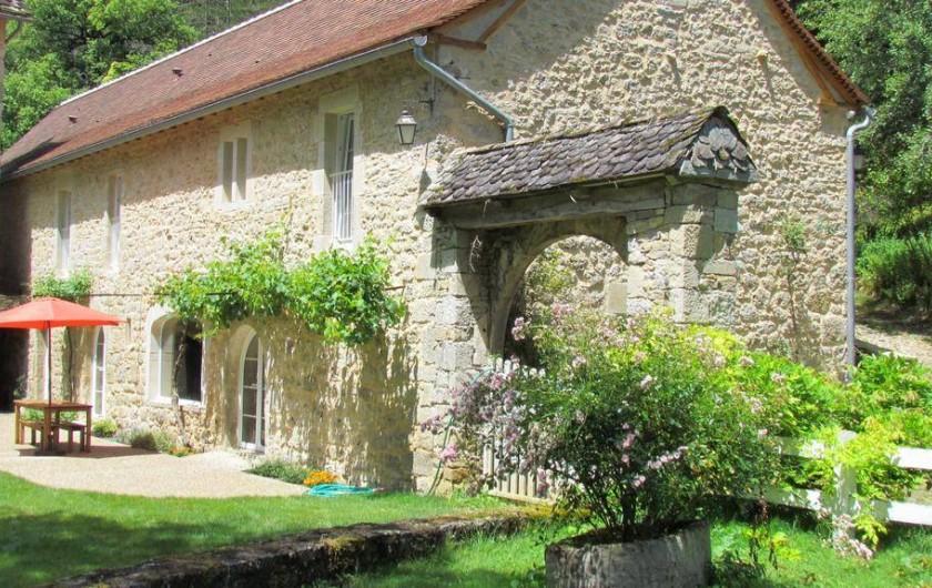 Location de vacances - Gîte à La Rouquette - La terrasse