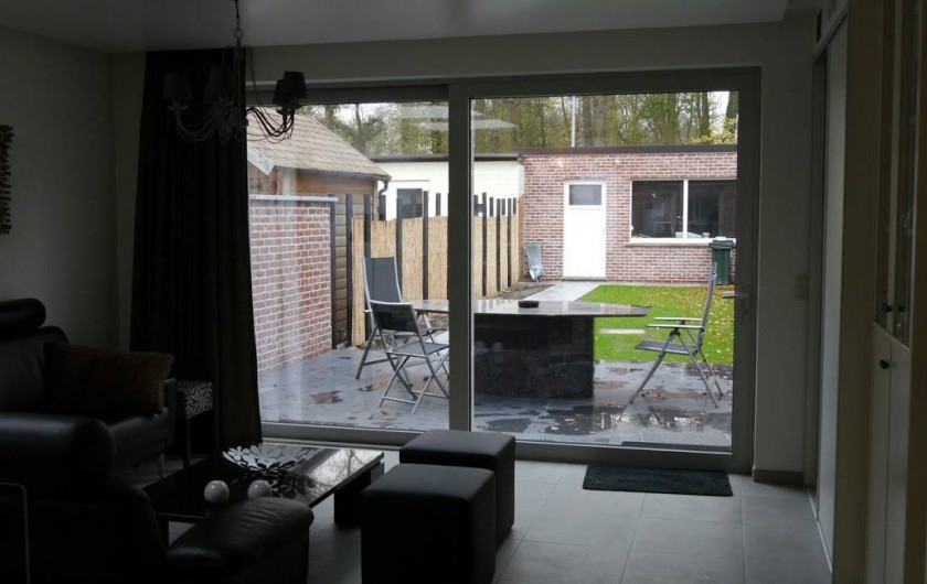 Location de vacances - Maison - Villa à Oudenaarde - sight from living room into garden