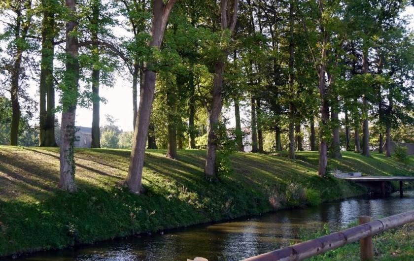 Location de vacances - Maison - Villa à Oudenaarde - the park of oudenaarde as your garden