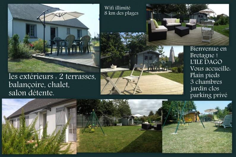 Location de vacances - Maison - Villa à Pluduno - pour des vacances agréable dans notre jolie région. Découvertes, et farniente