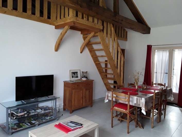 Location de vacances - Gîte à Sorges et Ligueux en Périgord - salon
