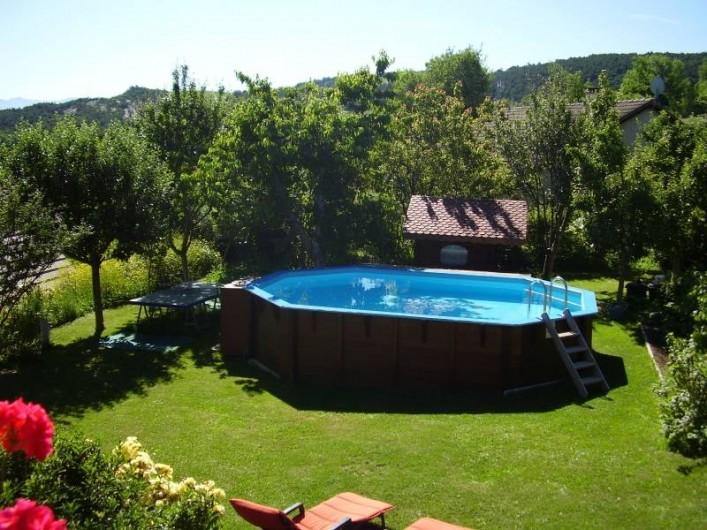 Location de vacances - Chalet à La Bâtie-Vieille - Le jardin
