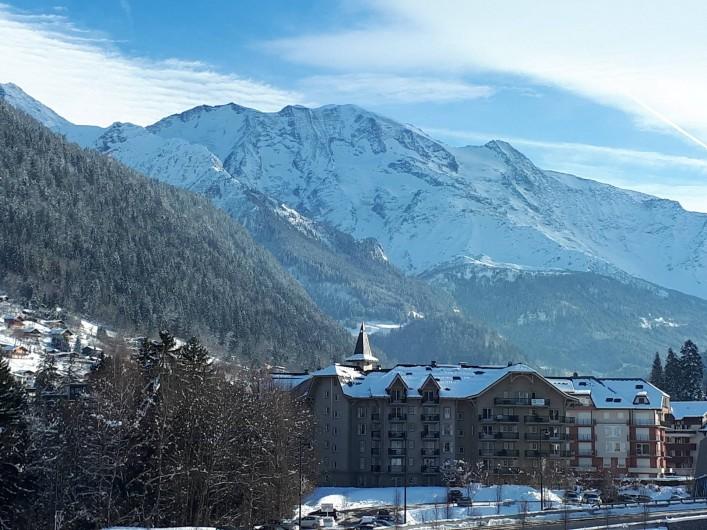 Location de vacances - Appartement à Saint-Gervais-les-Bains - Vue depuis l'appartement