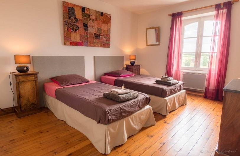 Location de vacances - Gîte à Nieul-sur-l'Autise - 2ème chambre