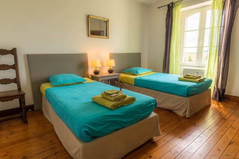 Location de vacances - Gîte à Nieul-sur-l'Autise - 3ème chambre