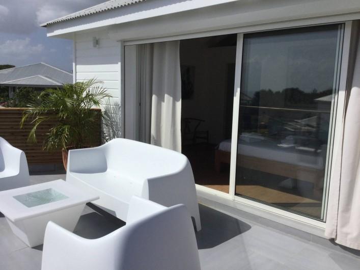 Location de vacances - Villa à Sainte-Anne - terrasse suite 3