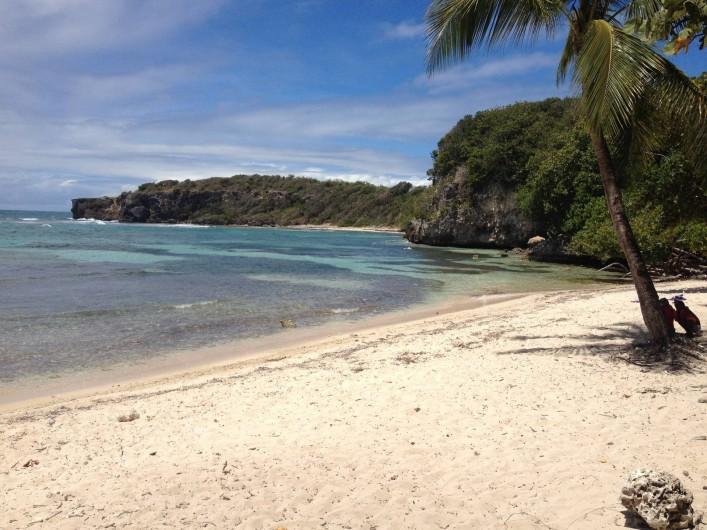 Location de vacances - Villa à Sainte-Anne - Plage de l'anse à Jacques à 20 mn à pieds