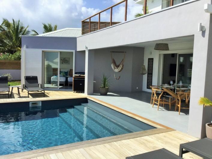 Location de vacances - Villa à Sainte-Anne - piscine au sel