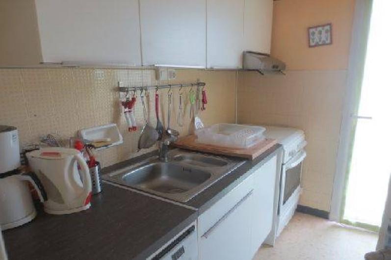 Location de vacances - Appartement à Canet-en-Roussillon - cuisine