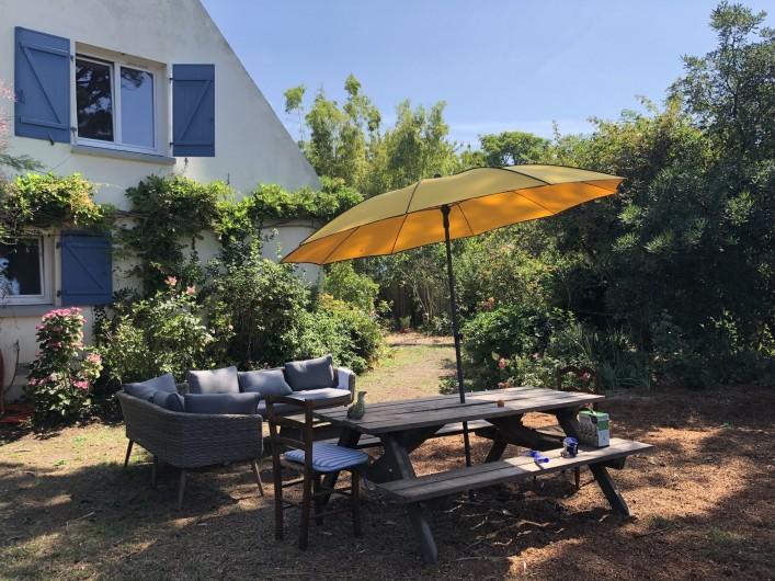 Location de vacances - Maison - Villa à Le Croisic - JARDIN