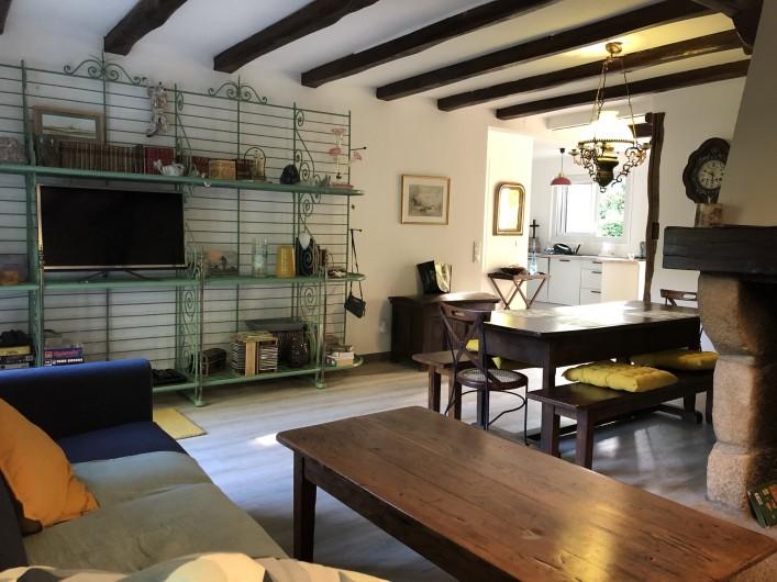 Location de vacances - Maison - Villa à Le Croisic - salon salle à manger