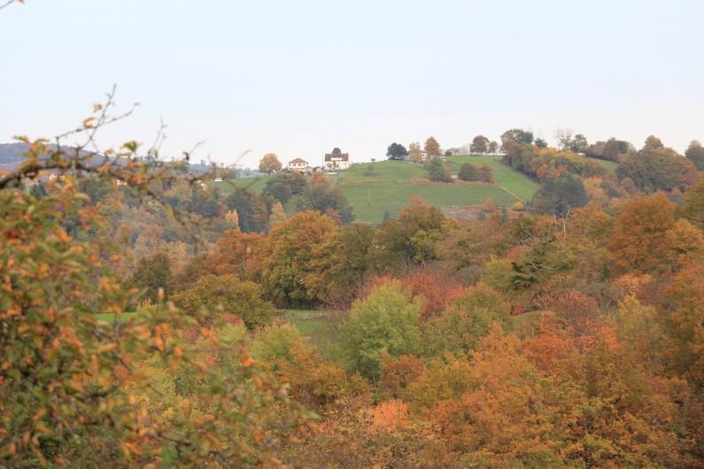 Location de vacances - Appartement à Cransac - Vue en automne