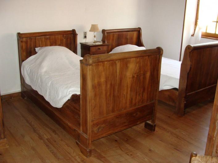 Location de vacances - Gîte à Saint-Cyprien-sur-Dourdou - Chambre 2