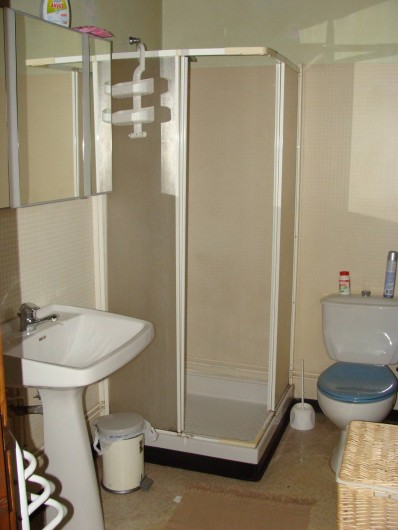 Location de vacances - Gîte à Saint-Cyprien-sur-Dourdou - Salle de bain