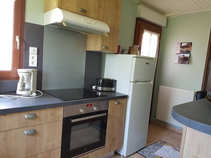 Location de vacances - Gîte à Lassouts - Suite cuisine