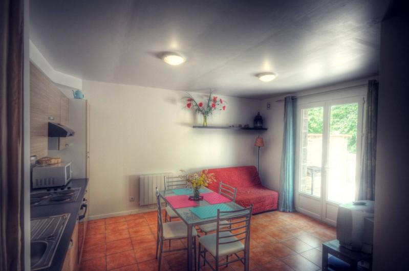 Location de vacances - Gîte à Mazamet - cuisine et salle à manger