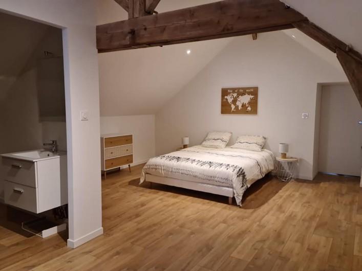 Location de vacances - Gîte à Bournezeau - Chambre berbere  1 lit double + 1 lit simple