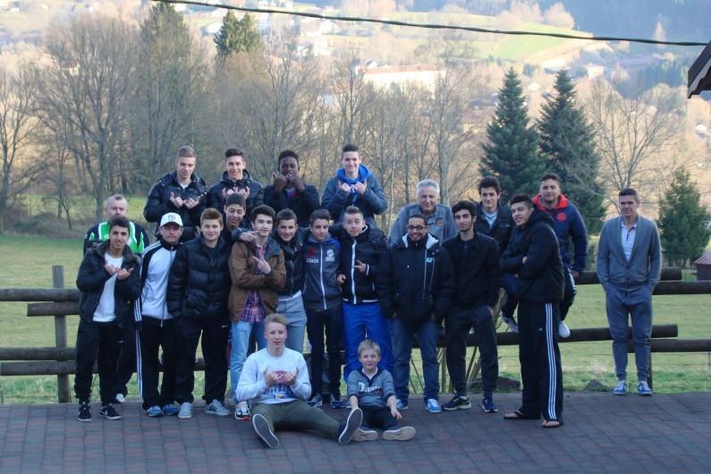 Location de vacances - Chalet à Senones - Accueil équipe de foot au Clos Malpré
