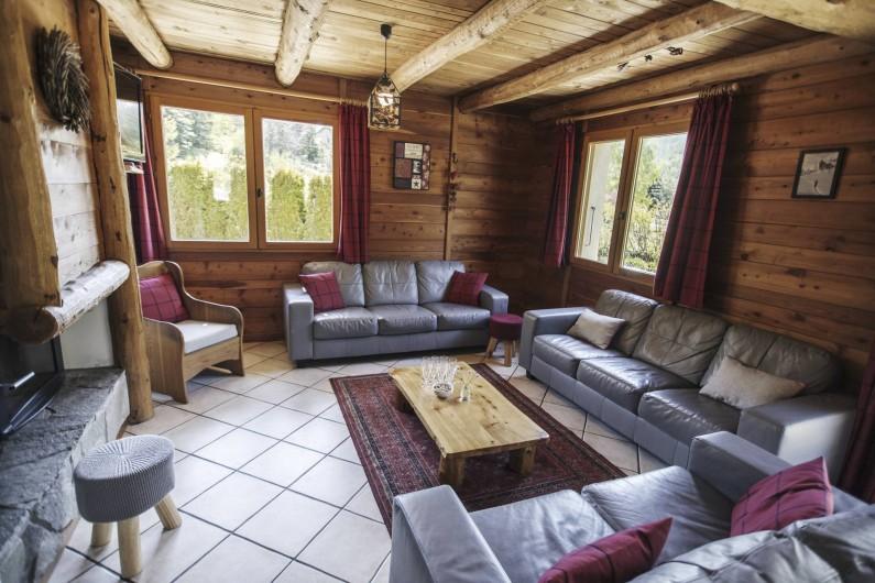 Location de vacances - Chalet à Saint-Chaffrey - Le salon