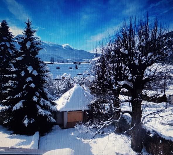 Location de vacances - Maison - Villa à Villard-de-Lans - Vue sur jardin - hiver