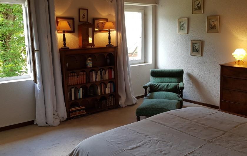 Location de vacances - Maison - Villa à Villard-de-Lans - Chambre sur jardin