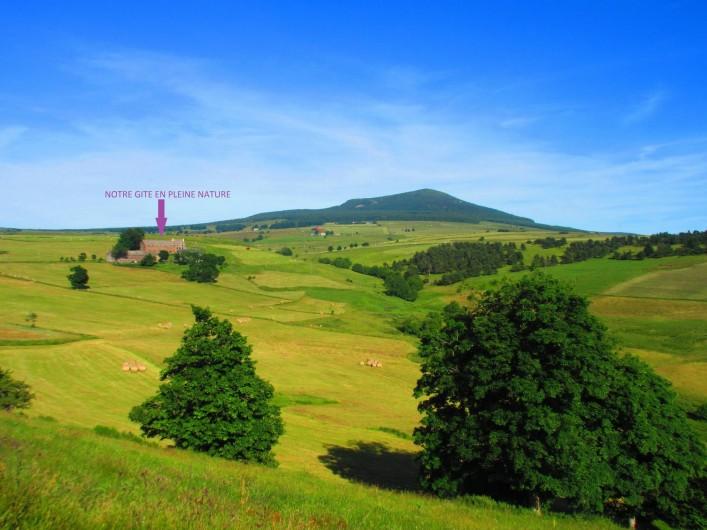 Location de vacances - Gîte à Moudeyres - Paysages à couper le souffle !