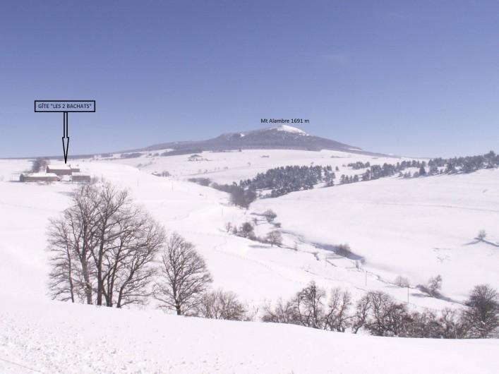 Location de vacances - Gîte à Moudeyres - En hiver neige garantie avec ski alpin, fond, raquette, traîneau...