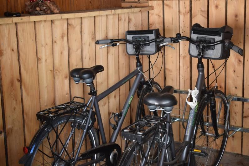 Location de vacances - Gîte à Sondernach - 2 Vélos en libre service