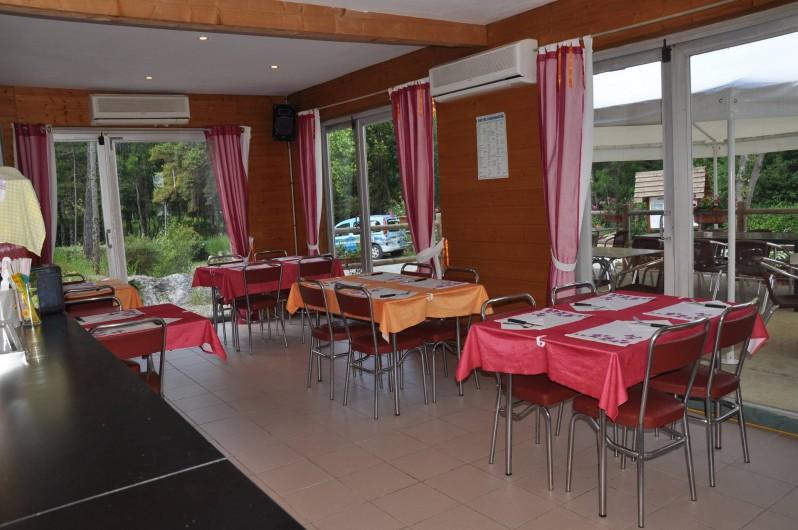 Location de vacances - Chalet à La Bréole - La pizzeria vue intérieure